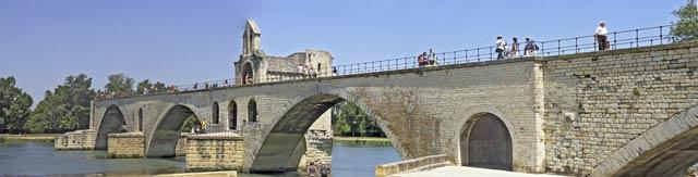 Pnorama von Avignon
