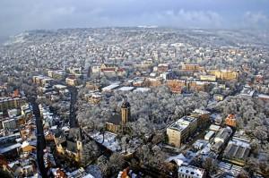 Das winterliche Jena