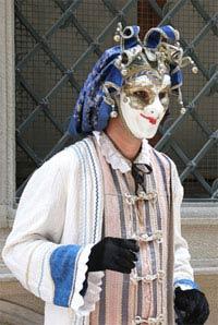 Karnevalskostüm in Venedig