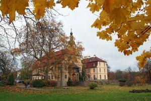 Herbst auf Schloss Machern