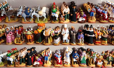 Santonen sind die kleinen Heiligen