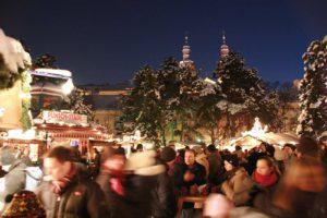 Wien Weihnachtsdorf im Alten AKH