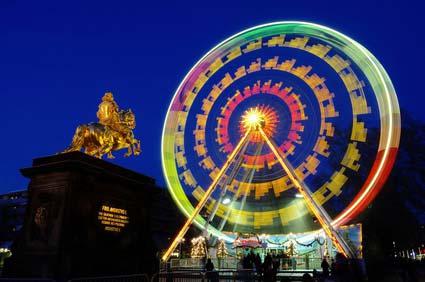 Augustusmarkt Goldener Reiter Dresden