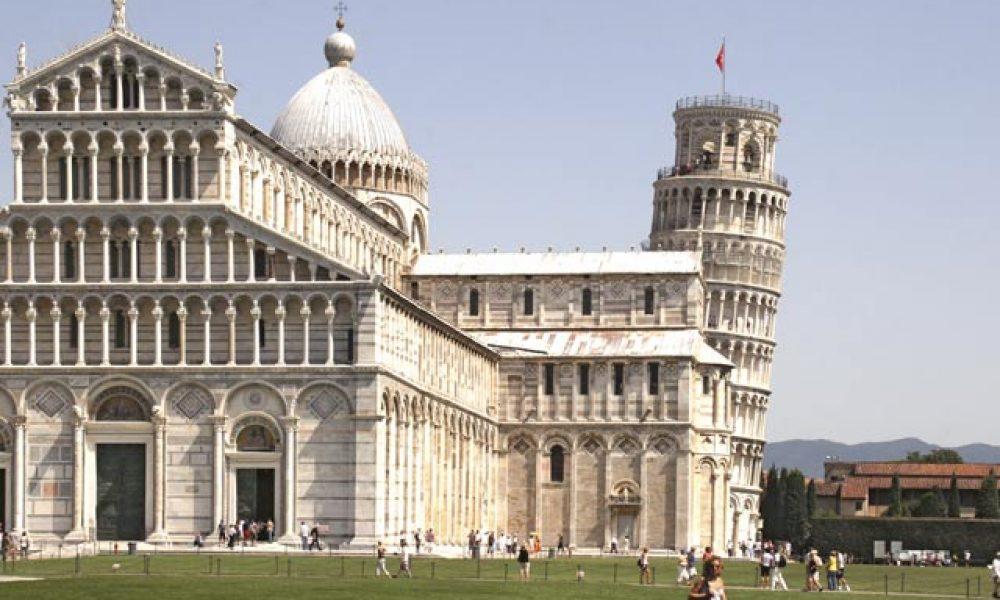 Torre Pendente: Der schiefe Turm von Pisa