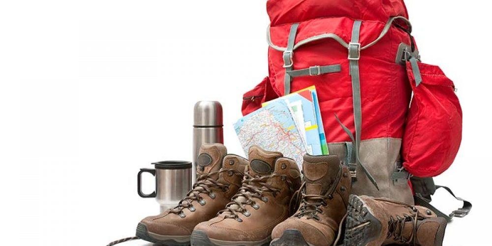Ausrüstung zum Wandern auf Kreta