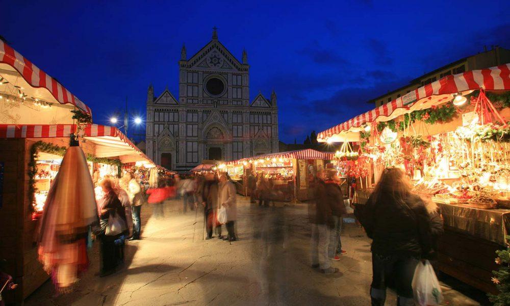 Weihnachtsmarkt in Florenz