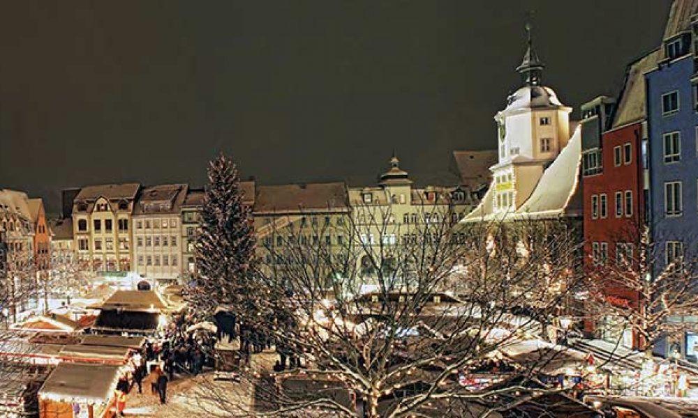 Der Weihnachtsmarkt in Jena