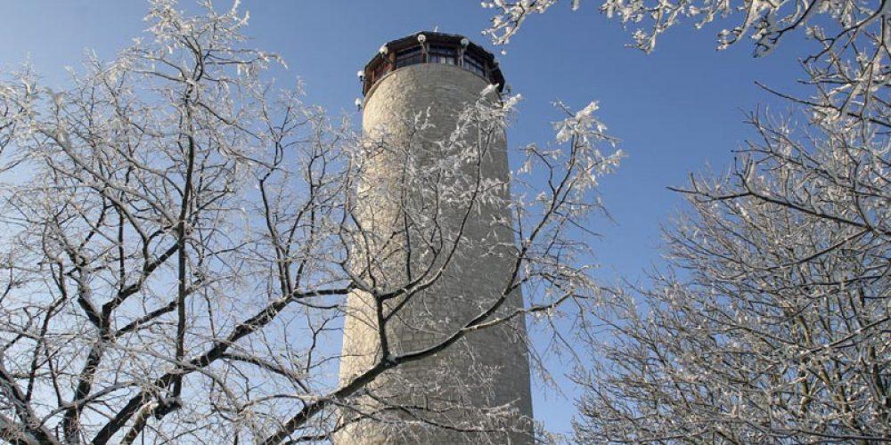 Jena: Ein Winterspaziergang zum Fuchsturm