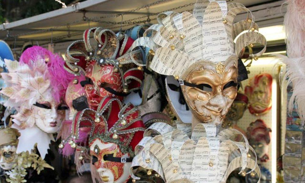 Venezianische Masken: Karneval in Venedig 2012