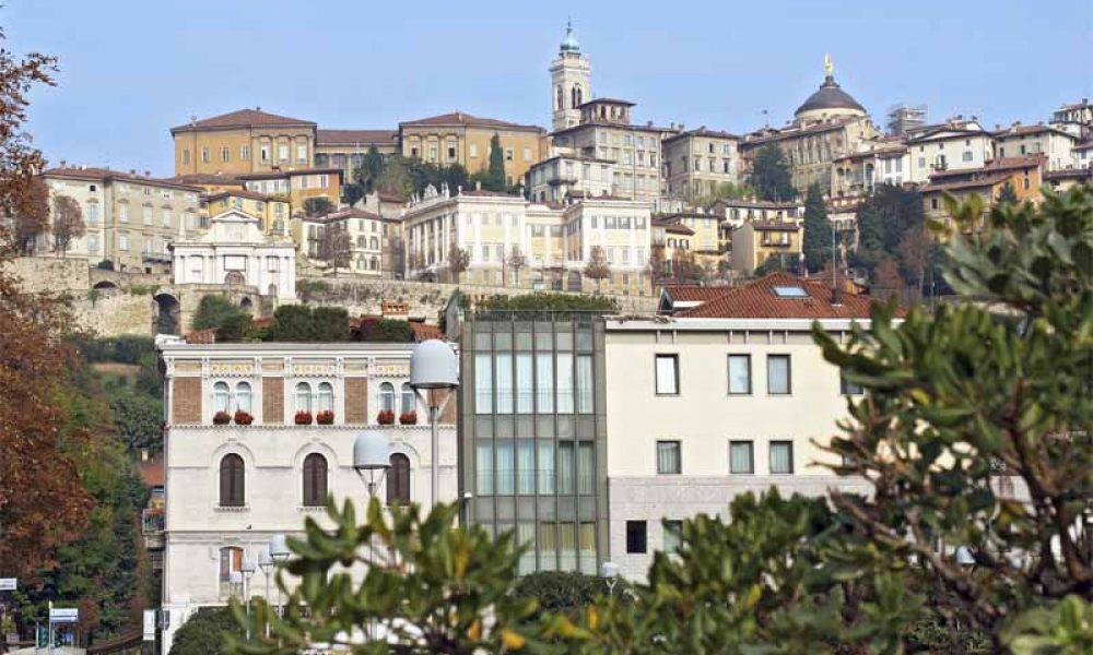 Die Altstadt von Bergamo